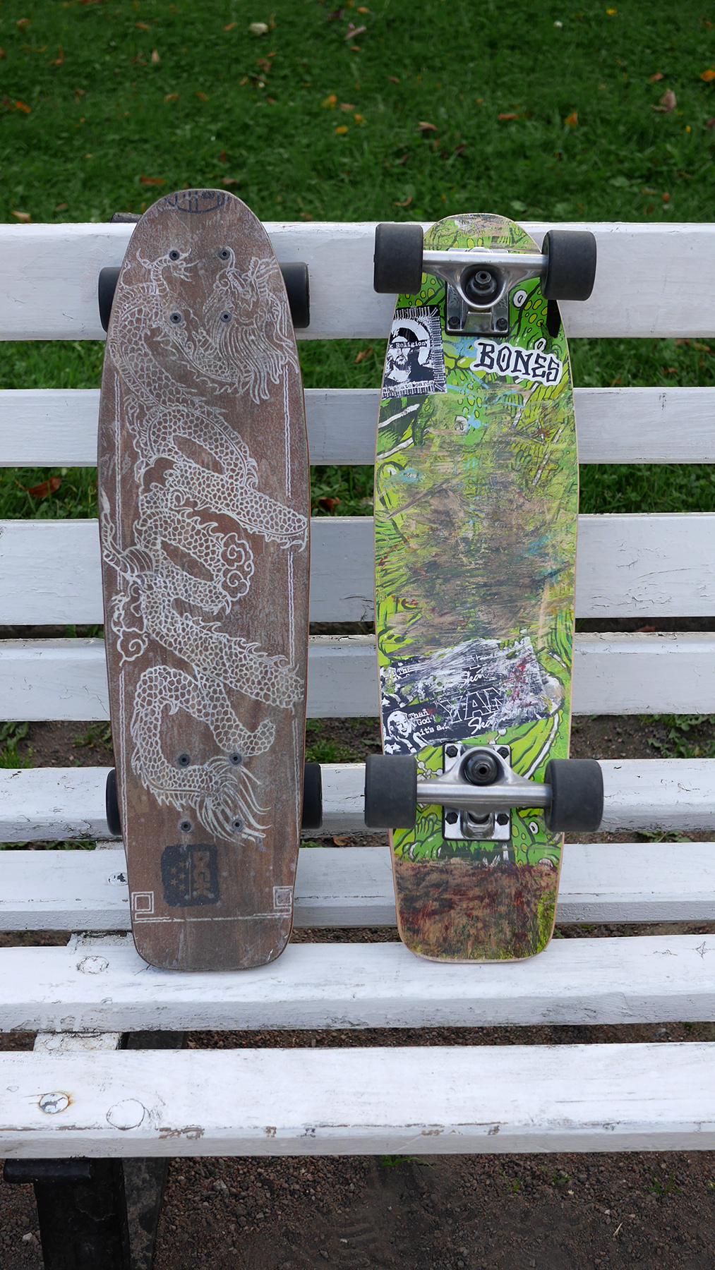 Our new travel skateboards <3