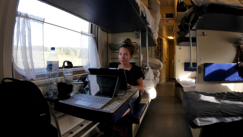 Our traveling office