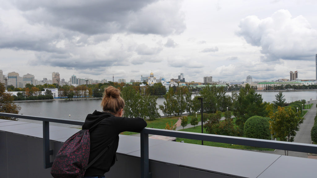 Like all other cities we visited in Russia, also Yekaterinburg had its river
