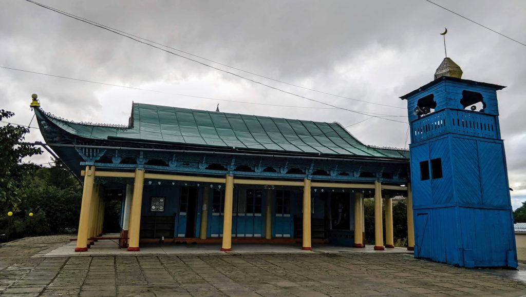 Moschee mit Minarett