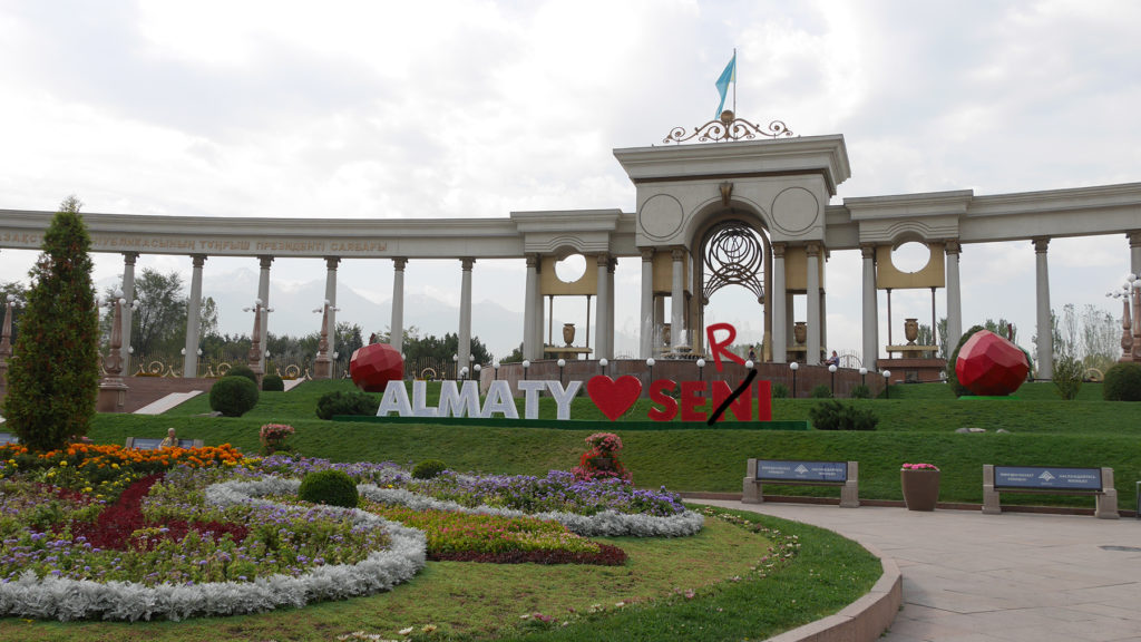 Almaty loves Seri