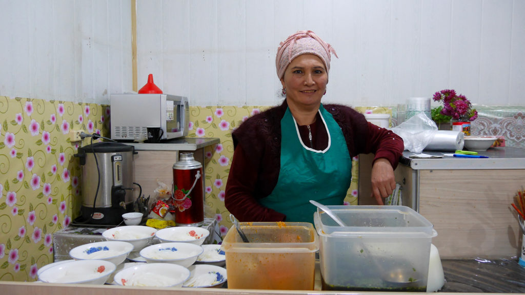 Ashlan-Fu Verkäuferin unserer Wahl
