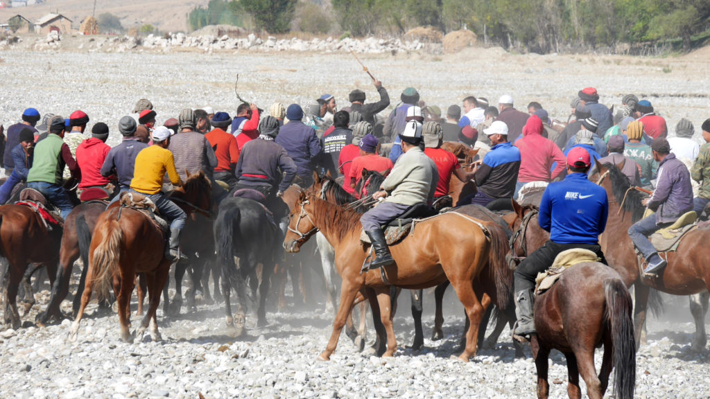 The national sport of Kyrgyzstan
