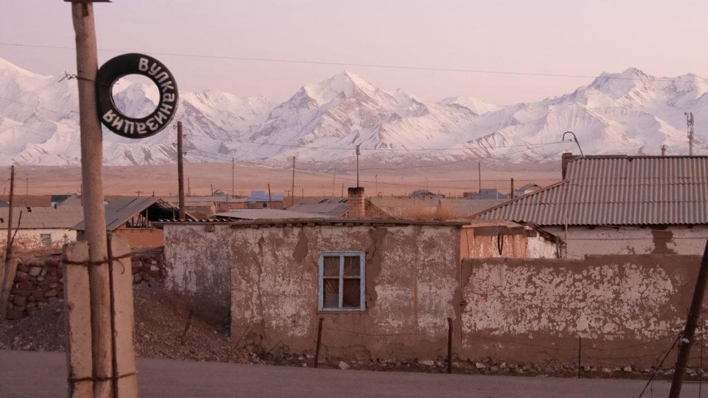 The village of Sary-Tash
