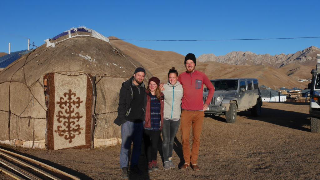Bye Lena and Tjerk, bye Kyrgyzstan!