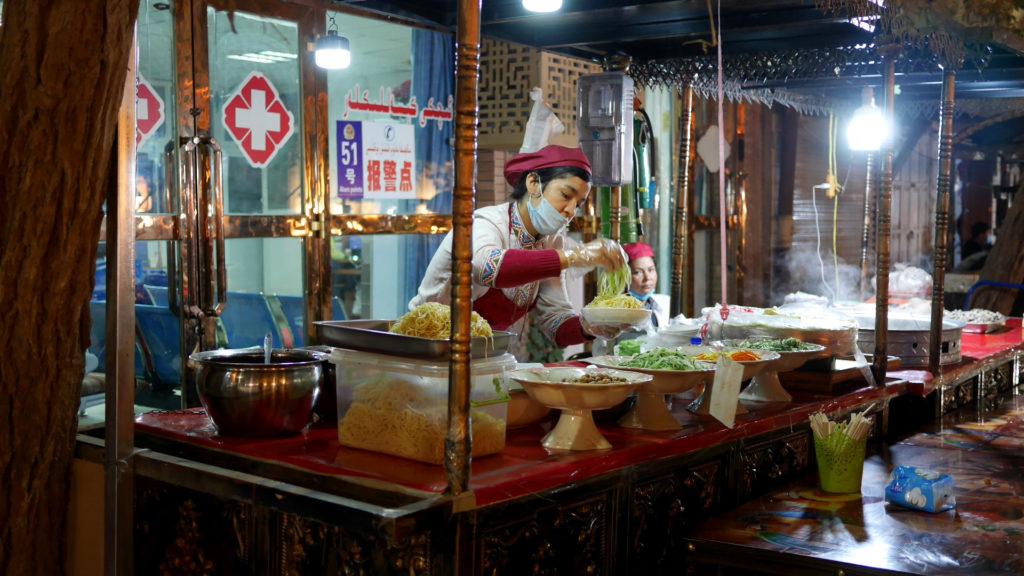 The wonderful Ashlan-Fu stand