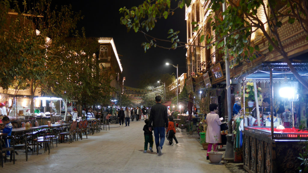 The Night Market at the Old Town