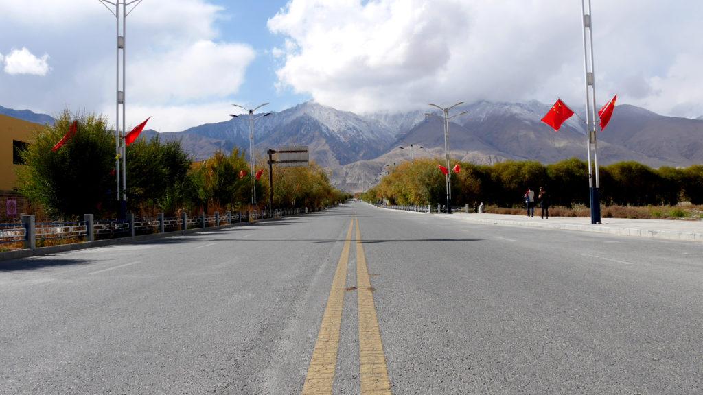 Perfect road for skating
