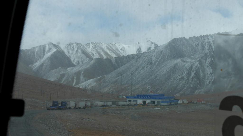 The border station at Khunjerab Pass