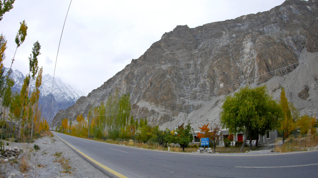The Passu Peak Inn along the Karakoram Highway
