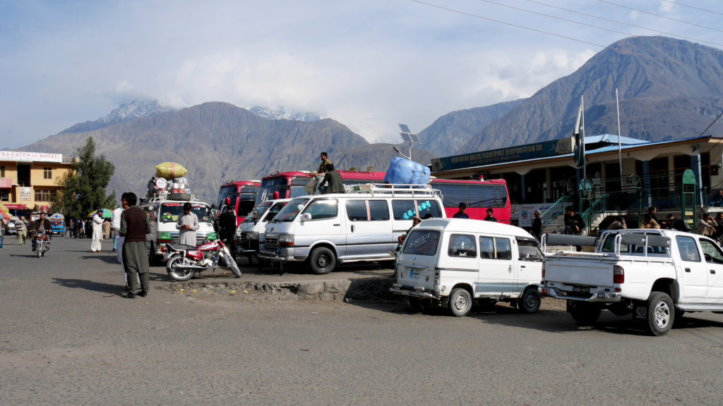 Gilgit bus station