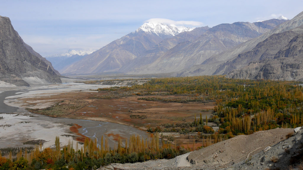 Views over the Shigar Valley