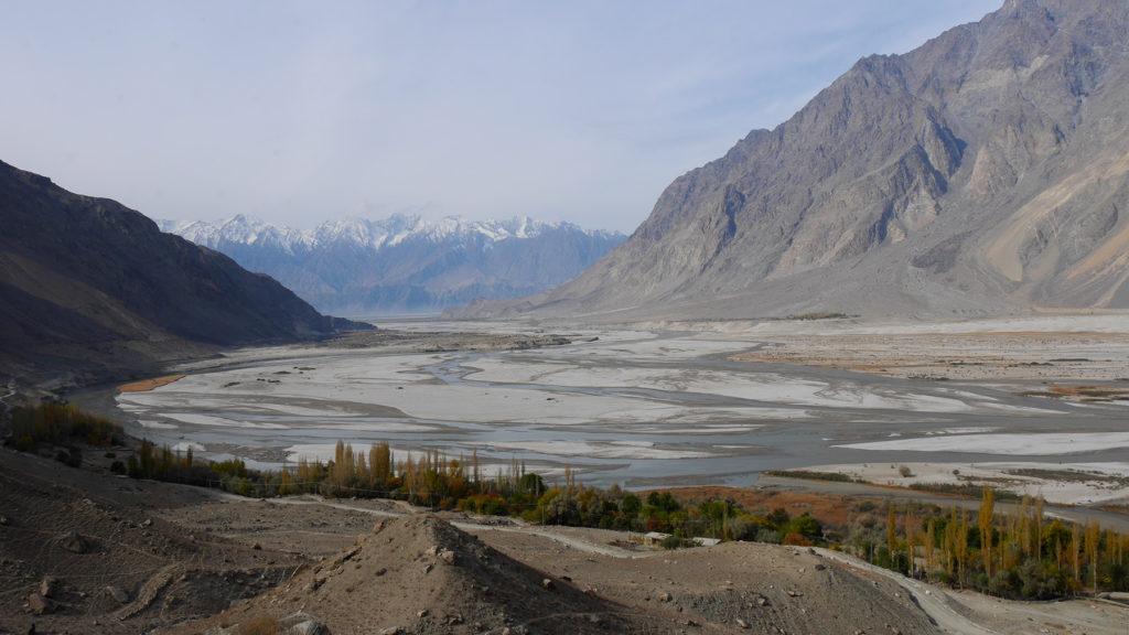 Maisemat matkalla Shigar-laaksoon