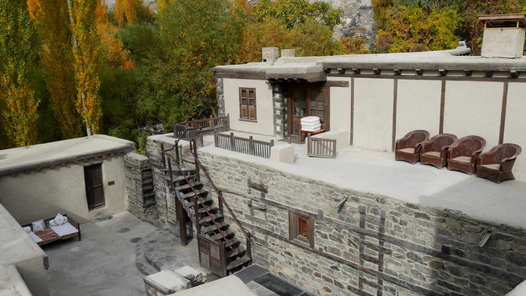 The Shigar Fort