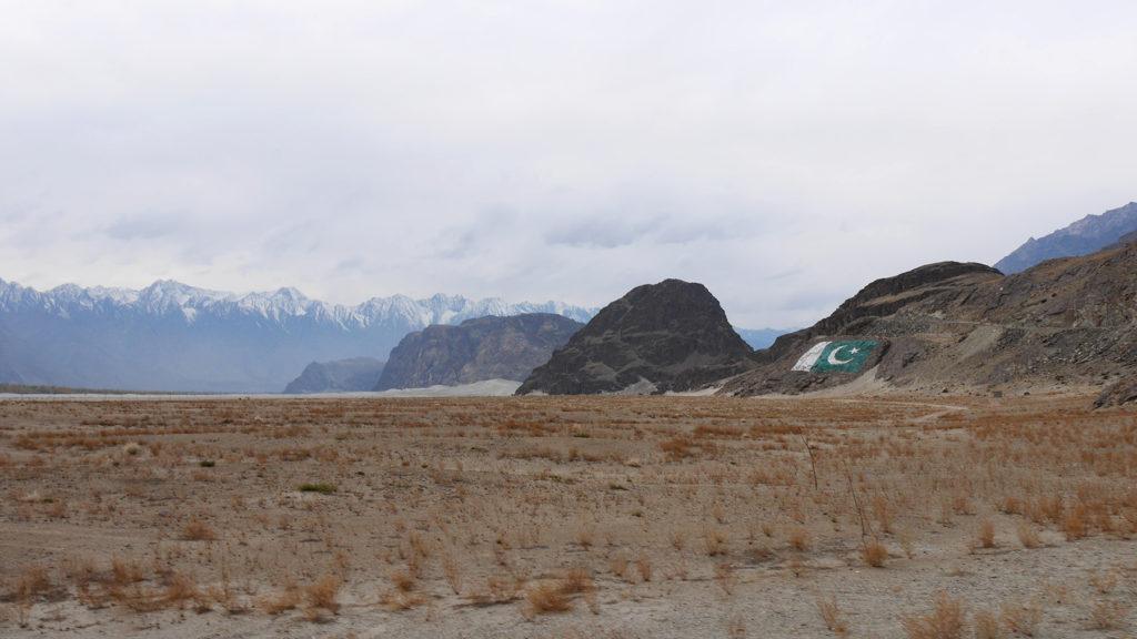 Kylmän Aavikon laidalla