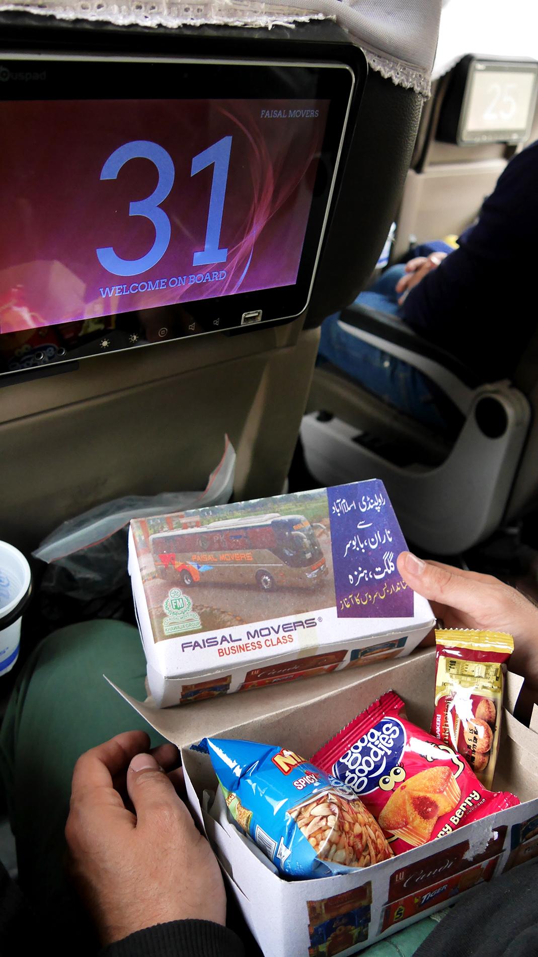 Business class snackbox
