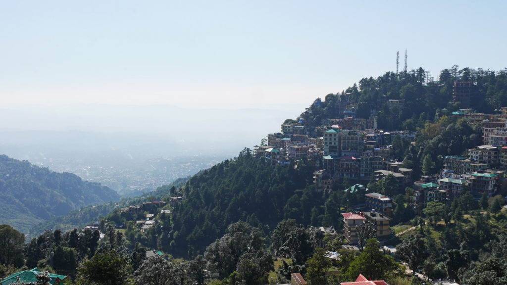 Dharamshala is a hill station in the Indian Himalayas