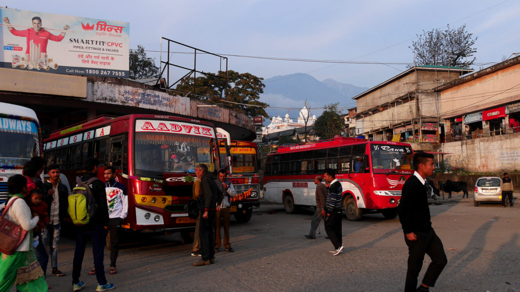 Busstation in Palampur