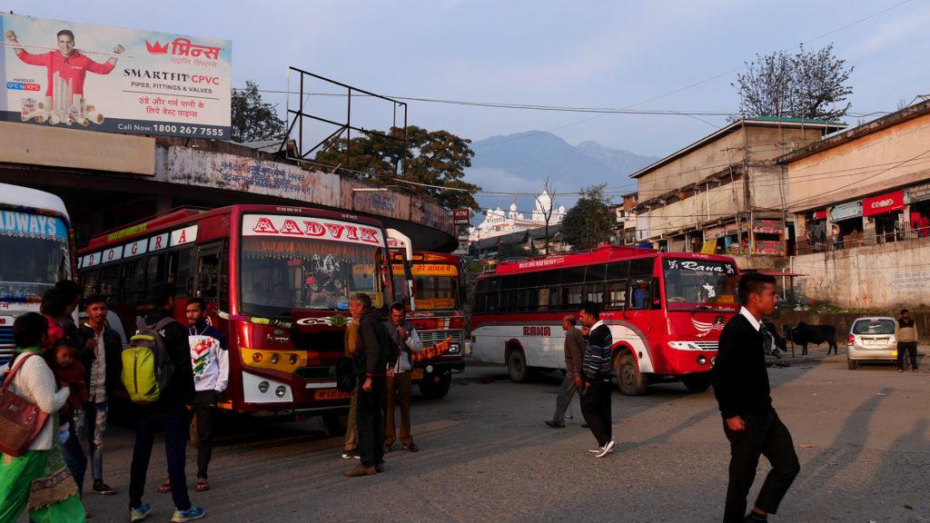 Palampur bus station