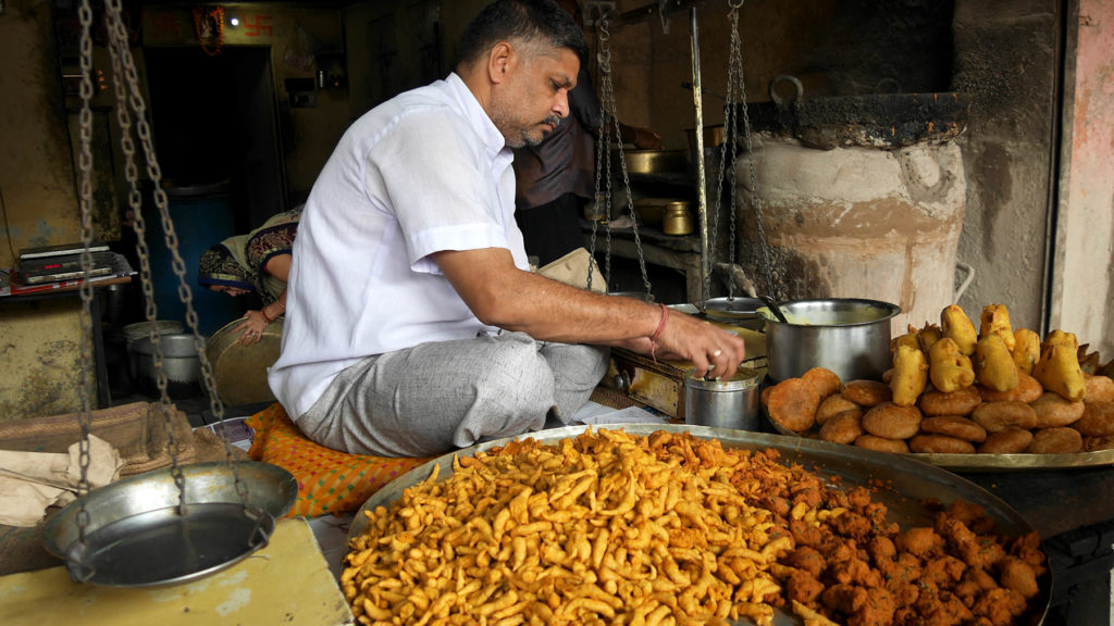 One of the best things on Jaipur's streets: the food