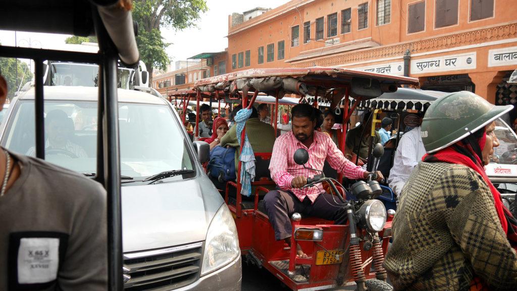 Jaipur's traffic