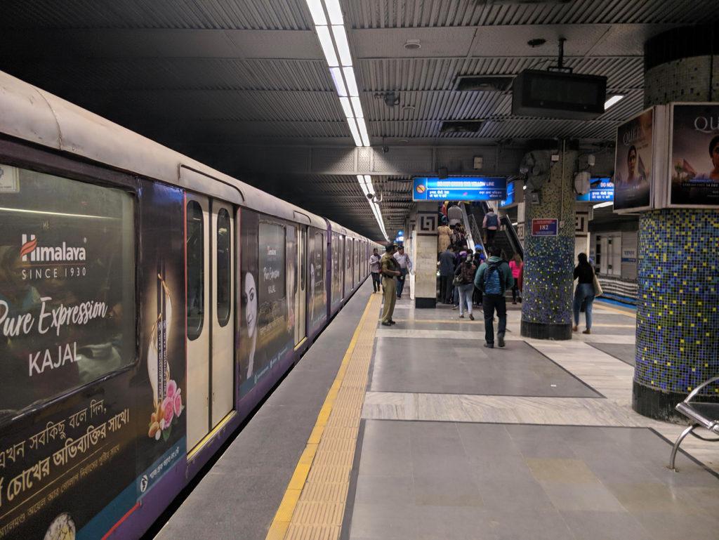 Kolkatan metro