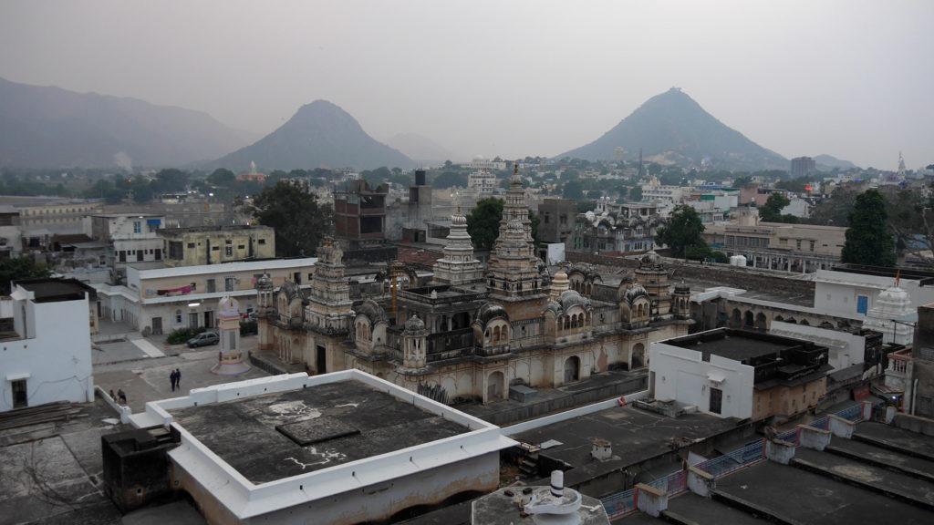 Ausblick vom Dach