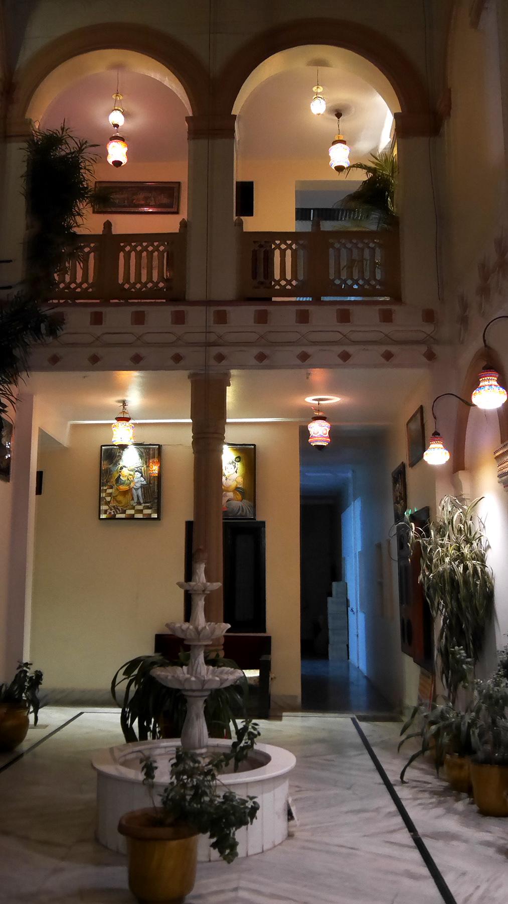 Lobby of Kanhaia Haveli