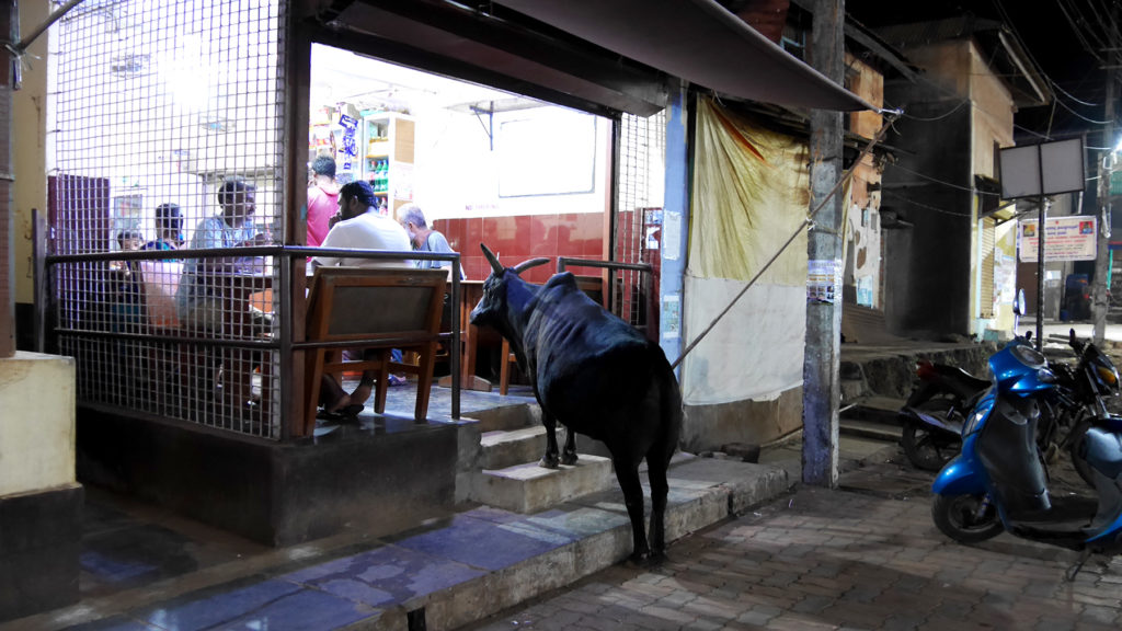 One cup of chai for the cow, please!