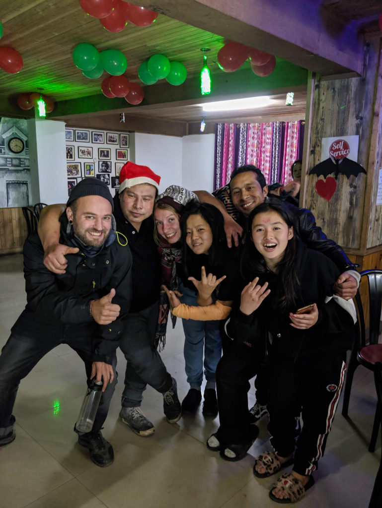 Our party crew this Christmas