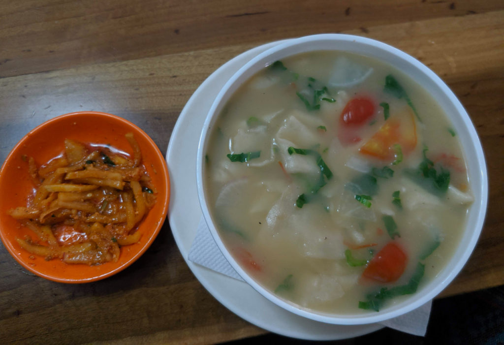 Tibetan soup