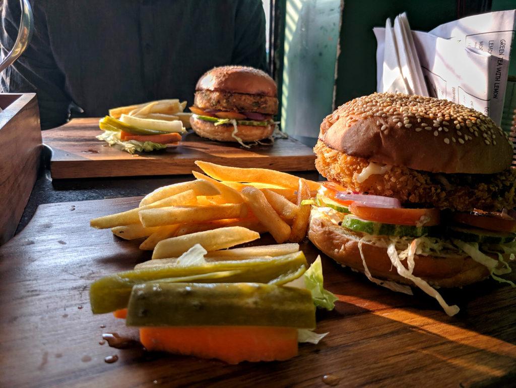 Veggie Burger im 11th Avenue