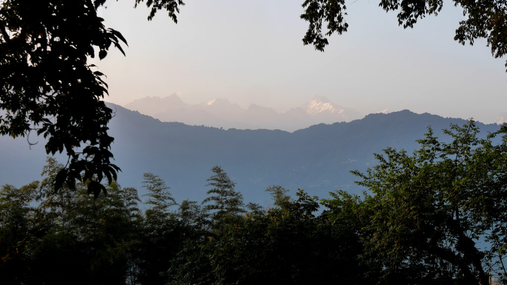 The mighty Kanchenjunga