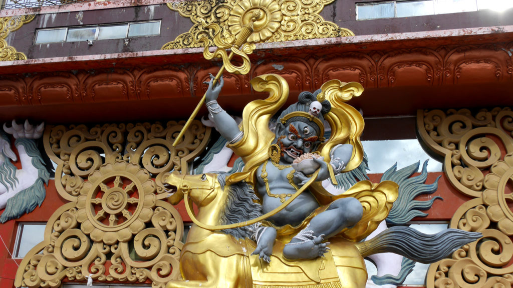 In the last weeks we have learned that Buddhist demons look really cool