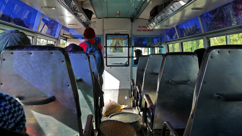 Bus from Sohra to Tyrna