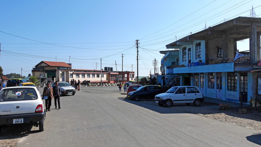 The center of Sohra