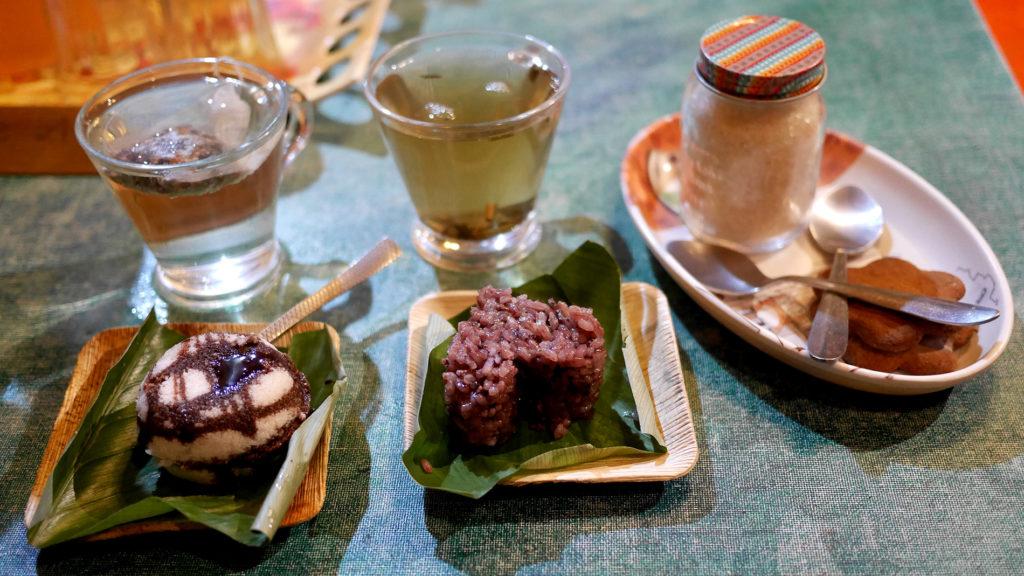 Sweets and tea at You & I Arts Café