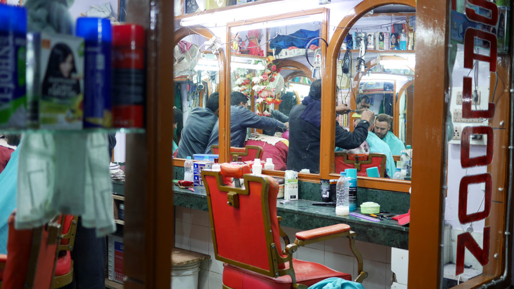 Getting a hair cut – another simple thing that you really appreciate when traveling