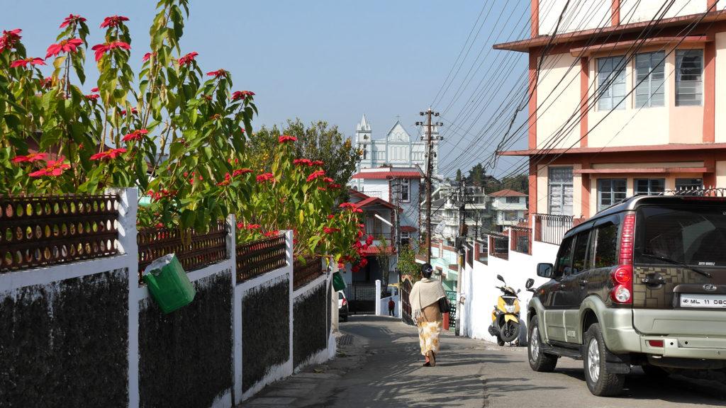 Straßen im entspannteren Teil von Shillong