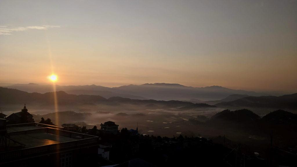 Viimeinen auringonlaskumme Intiassa (toistaiseksi)