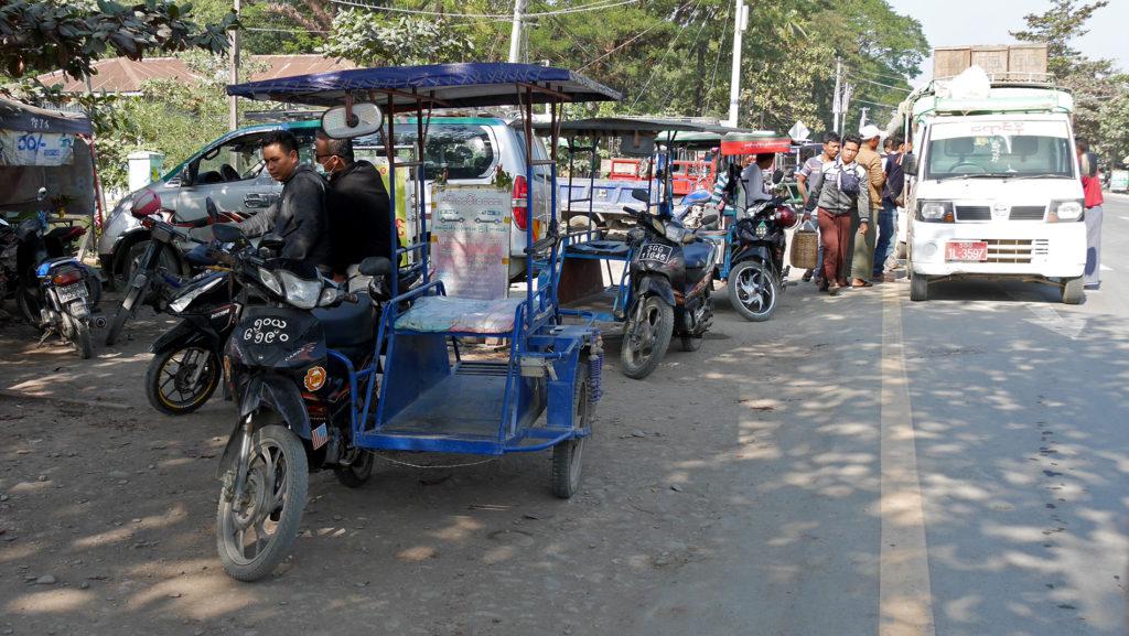 Rikscha à la Kalay