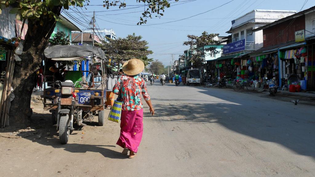 Straßen von Kalay