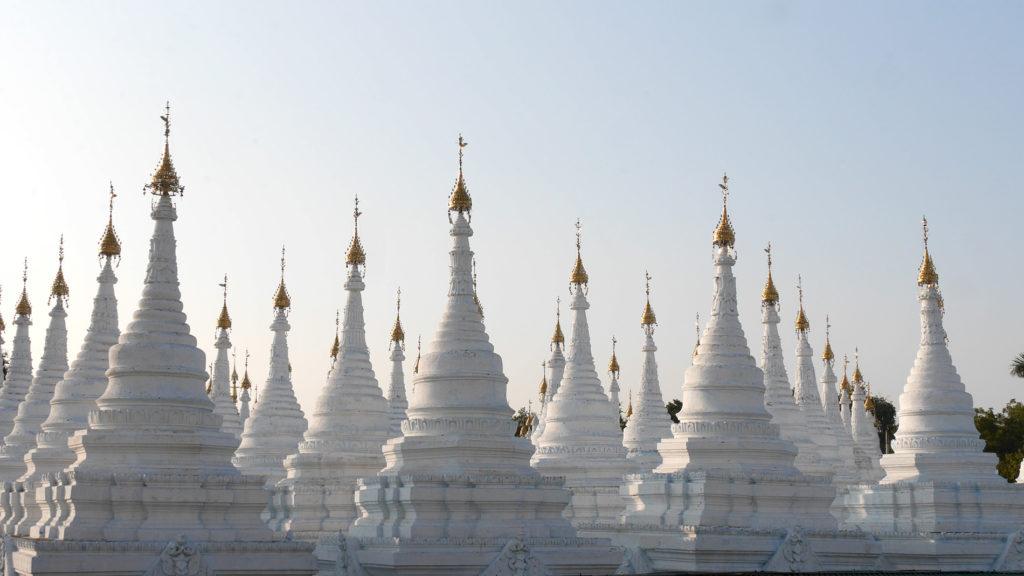 At the Sandamuni Pagoda