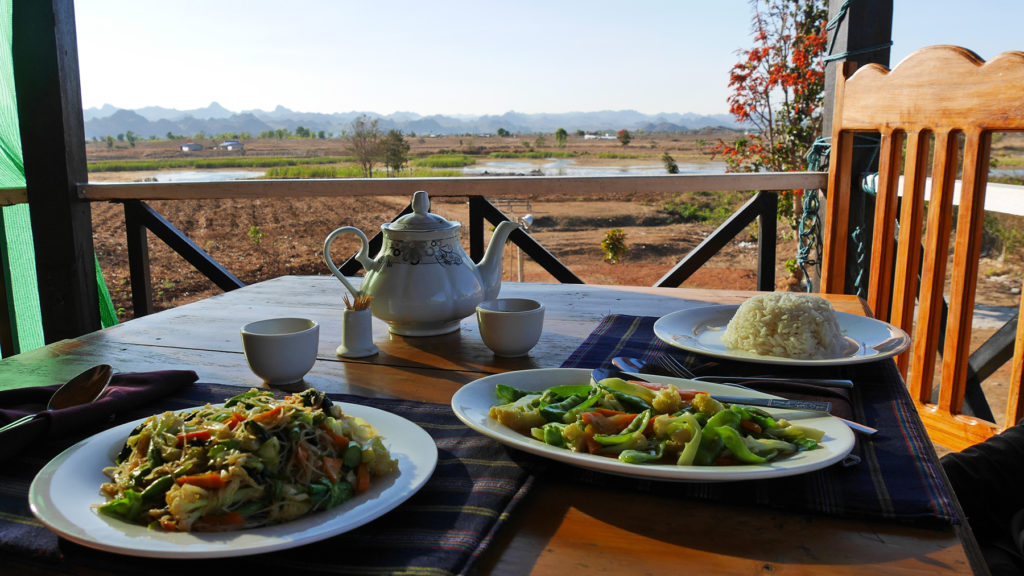 The food and the views of Marco Polo restaurant