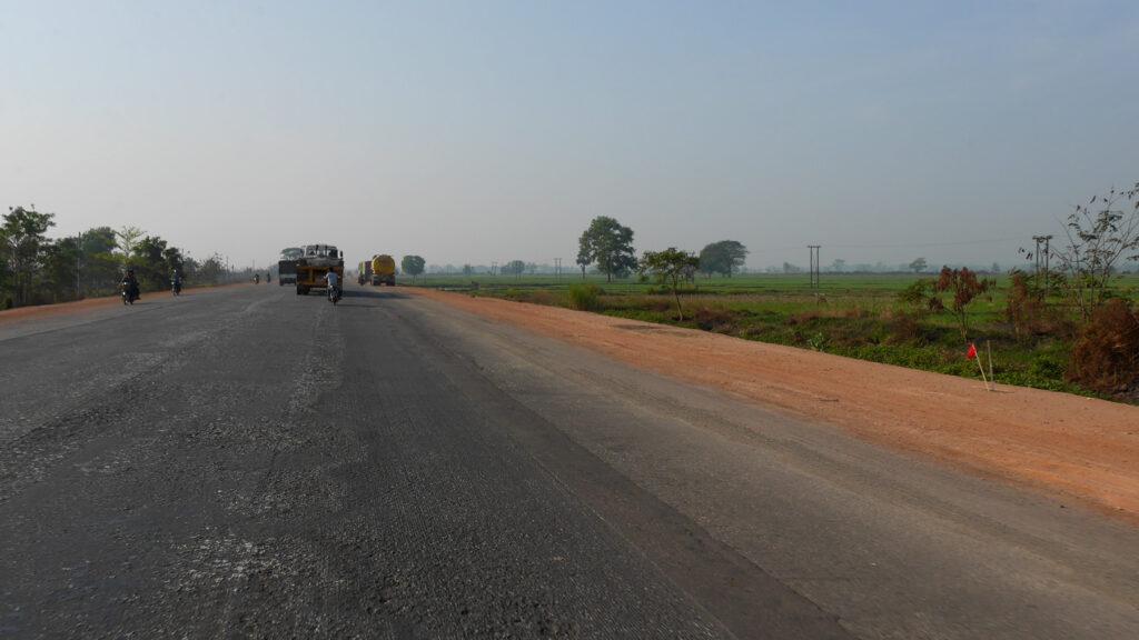 Straight road ahead!