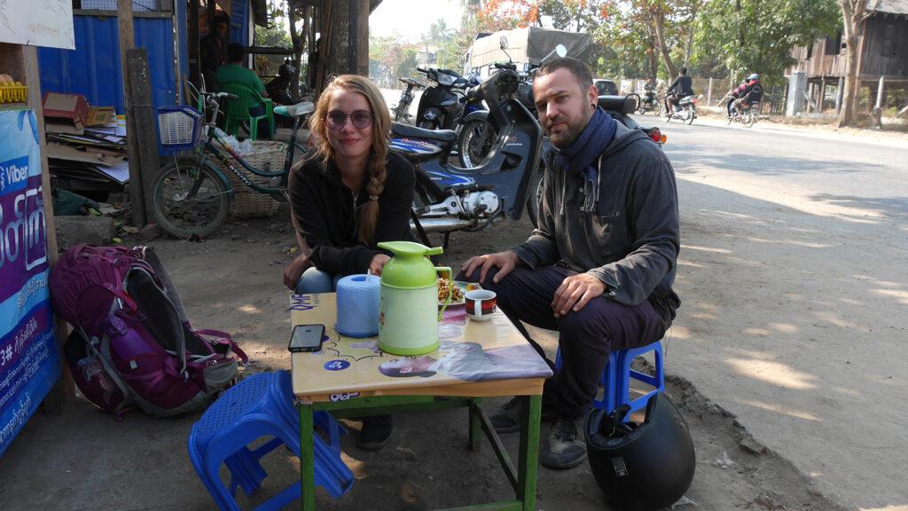 Our roadside breakfast spot